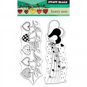 Clearstamp Set - Penny Black - Hearty Note