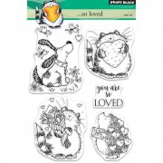 Clearstamp Set - Penny Black - ...So Loved