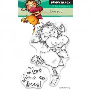 Clearstamp Set - Penny Black - Love You