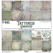 Paper Pad 12x12 - Tattered Garden - 49 and Market