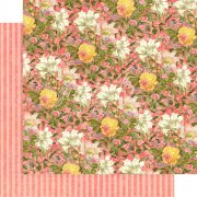 Papper Graphic45 - Floral Shoppe - Pink Lilies