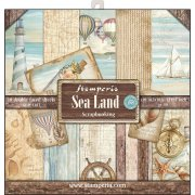"Paper Pad 12""x12"" - Stamperia - Sea Land"