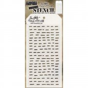 Schablon Tim Holtz - Dashes