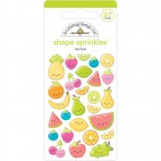 Epoxy Stickers - Doodlebug - Fun Fruits