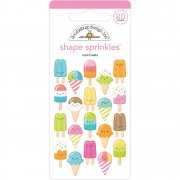 Epoxy Stickers - Doodlebug - Cool Treats