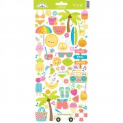 Stickers Doodlebug - Sweet Summer icons