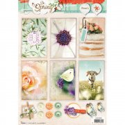 Studio Light Topper Sheet A4 - So Spring 1
