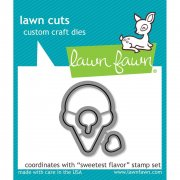 Lawn Fawn Cuts Custom Craft Die - Sweetest Flavor