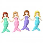 Knappar Figurer - Mermaid Friends