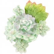 Blommor Prima 12 st - Santa Baby - Frosted Mint