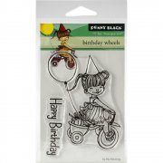 Clearstamp Set - Penny Black - Birthday Wheels