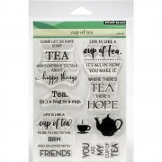 Clearstamp Set - Penny Black - Cup Of Tea