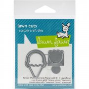 Lawn Fawn Cuts Custom Craft Die - Reveal Wheel Sweetest Flavor