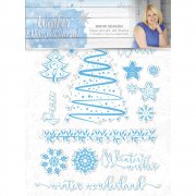 Winter Wonderland Clear Stamps - Snow Season - 17 st