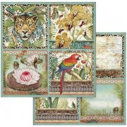 Papper Stamperia - Amazonia - Cards
