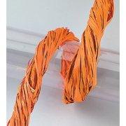 Bastsnöre - Orange - Raffia 50 gram