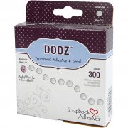 Dodz Glue Dots 6 mm - 300 st Clear - Small - Syrafri