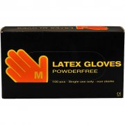Latex handskar - stl. medium - Latex - 100 st