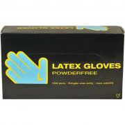 Latex handskar - stl. large - Latex - 100 st