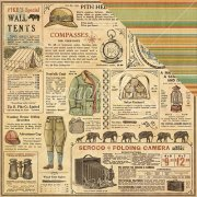Papper Graphic45 - Safari Adventure - Serengeti Outfitters