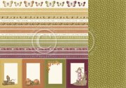 Papper Pion Design - Summer Falls into Autumn - Borders
