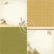 Papper Pion Design - Summer falls into Autumn 6x6 - September Morning
