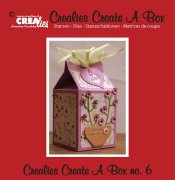Dies - Create A Box - no. 6 - Milk carton - Crealies
