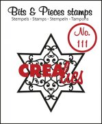 Clearstamp - Crealies - Bits & Pieces - no.111 - Star B