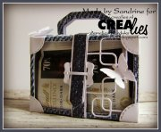 Dies - Create A Box Mini - Suitcase - Crealies