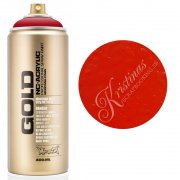 Montana GOLD Sprayfärg - Shock Kent Blood Red - 400 ml - Röd