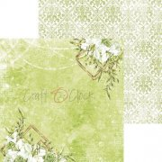 Papper Craft Clock - Greenery Charm 02
