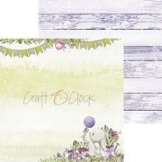 Papper Craft Clock - Spring Bustling 02