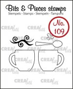 Clearstamp Crealies - Bits & Pieces - no.109