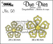 Dies - Duo - Flowers 21 - Crealies