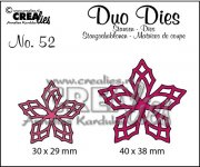 Dies - Duo - Flowers 23 - Crealies