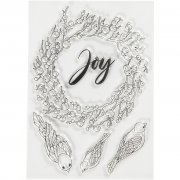 Clearstamp Studio Light - Joy - 10,5x15 cm