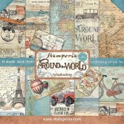 "Paper Pad 12""x12"" - Stamperia - Around The World"