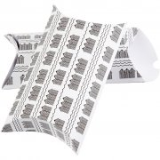 Presentaskar Pillow Box 3 st - Black House - 24 x 15 cm