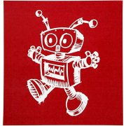 Screenstencil - Schablon - Robot - 20x22 cm