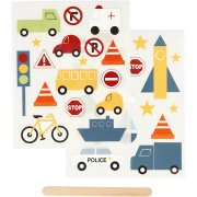 Rub-on stickers - Transport - 12,2x15,3