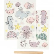 Rub-on stickers - Havet - 12,2x15,3