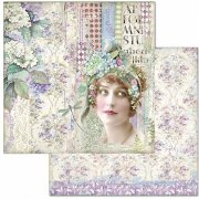 Papper Stamperia - Hortensia - Lady
