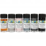 Magic Marble Marmoreringsfärg - Chalky Living - 6 x 20 ml