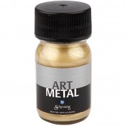 Art Metall färg - Ljusguld - 30 ml