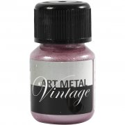 Art Metal färg - Pärlrosa - 30ml