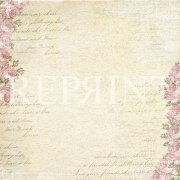 Papper Reprint - Music and Roses - Rose garden