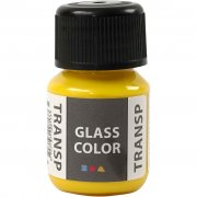 Glasfärg transparent - Citrongul - 35 ml