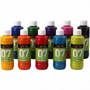 A-Color Glas - 10 st x 250 ml