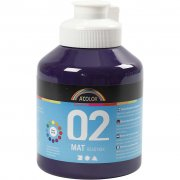 A-color matt akrylfärg - Violett - 500 ml