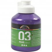A-color Pearl akrylfärg - Violett - 500 ml
